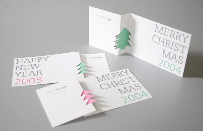 Atelier michael meinhardt grafik design n rnberg - Designer weihnachtskarten ...